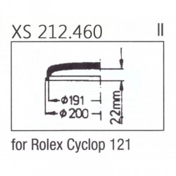 GLASS- Rolex Cyclop 121