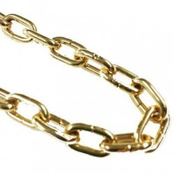 Brass Chains for Cuckoo- and Wall Clocks 9.80x7.10x1.35mm