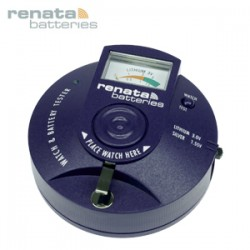 Battery Tester RENATA for all button cells