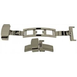 Buckles for Leather Straps, Butterfly Double Deployment