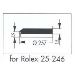 25.7mm Rolex 25.246 without Date Lens