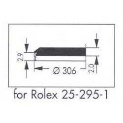 Rolex 30.6mm -25.295.1-without date lens