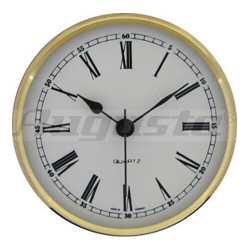 Quartz mouvement romeinse cijfers Ø 103 MM