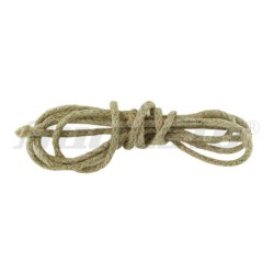 Rope drums for clocks-red/ natural-2.50mm
